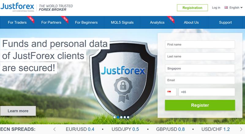 justforex ไม่มีเงินฝากโบนัส