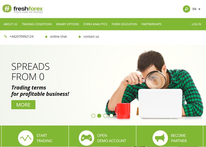 freshforex-لا-إيداع مكافأة